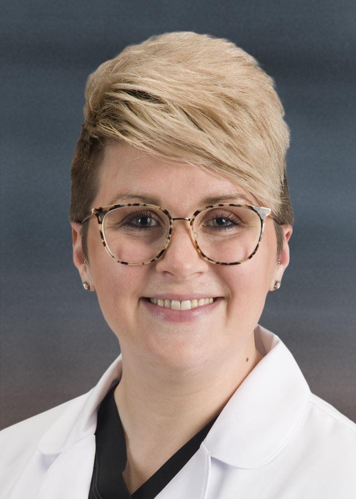 Headshot of Sarah Kindernecht, Advanced Practice Registered Nurse for the Pain Center at Kansas Spine.